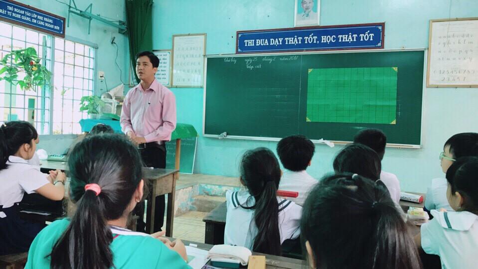 Tiểu học Phú Mỹ, thành phố Sa Đéc tổ chức hội giảng sư phạm