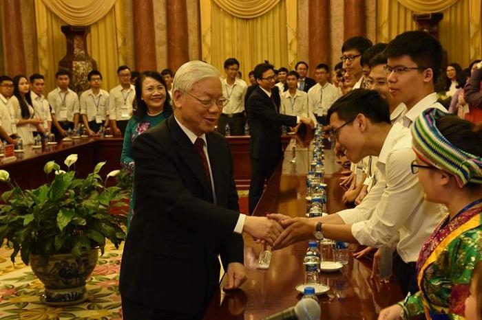 Tổng Bí thư, Chủ tịch nước Nguyễn Phú Trọng: Chưa bao giờ chúng ta có được sự nghiệp giáo dục như ngày hôm nay